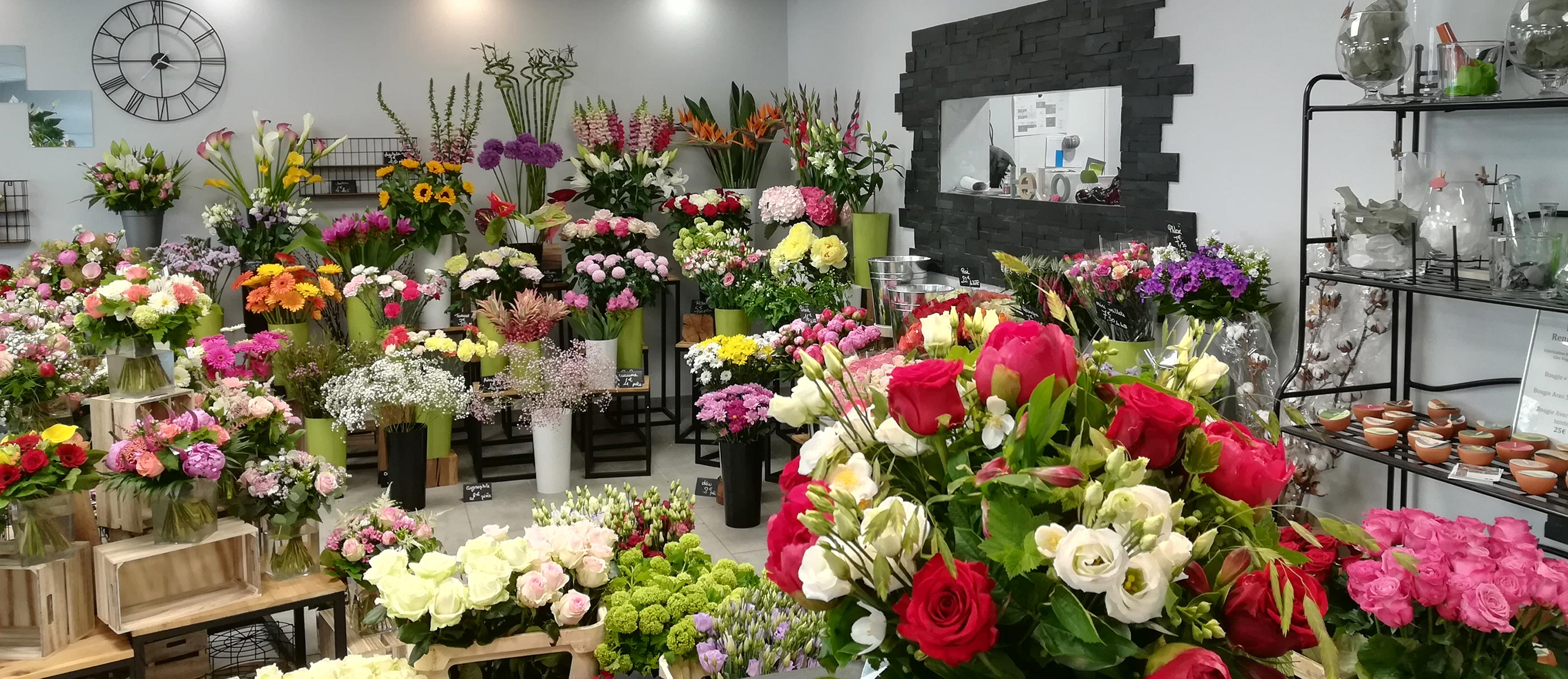 Fleuriste : Un jour une fleur